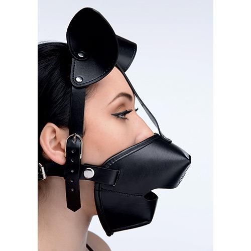 Maschera da cane con morso pup puppy gag