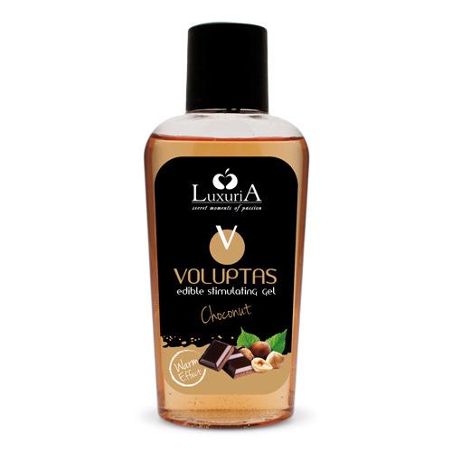 Gel massaggi voluptas nocciola e cioccolato 100 ml