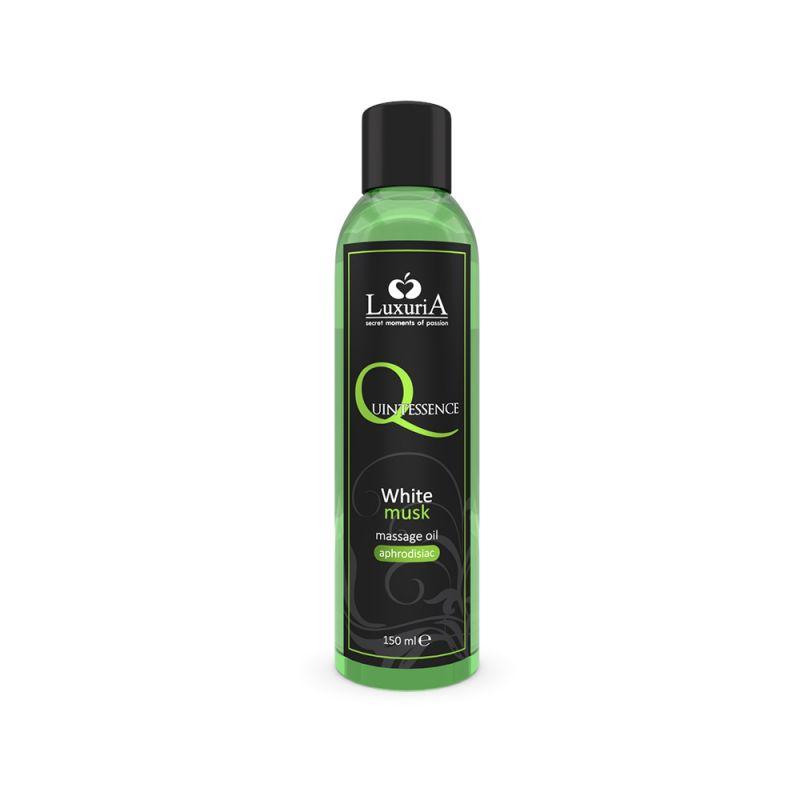 Quintessence olio per massaggi al muschio bianco 125 ml