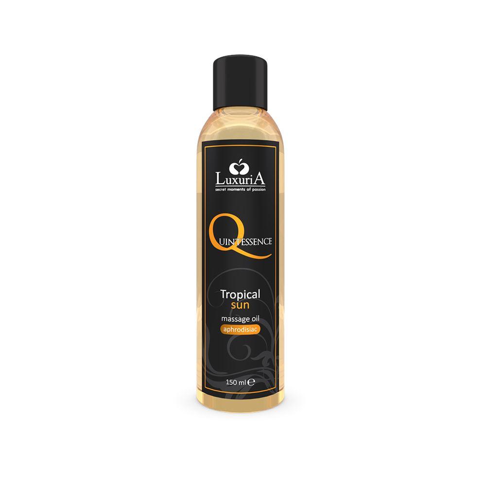 Quintessence olio massaggio tropical sun 125 ml