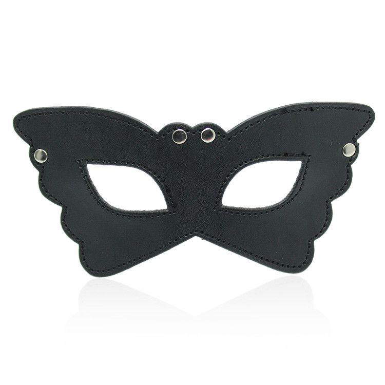Maschera butterfly black